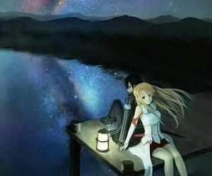 anime, kirito, and asuna image
