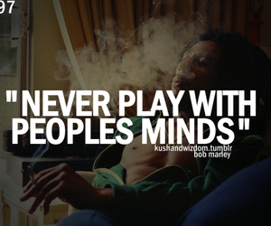text, bob marley, and quote image