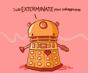 doctor who, Dalek, and cute image