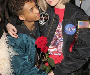 couple, jaden smith, and sarah snyder image