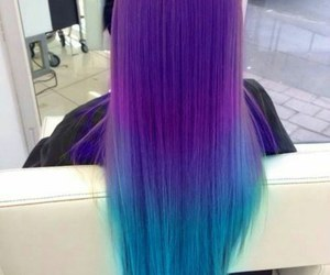 beautiful, colors, and hair style image