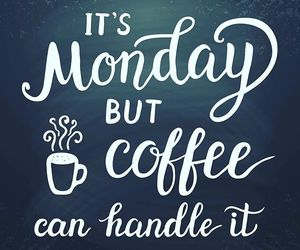 coffee and monday image
