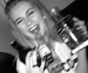 alcohol, drinking, and girl image