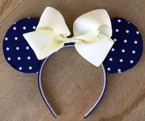 disney, etsy, and polka dot image
