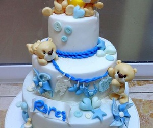 baby, boy, and cakes image