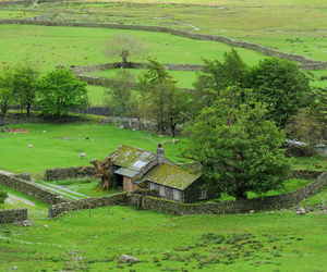 cottage, fells, and dream house image