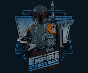 boba fett, empire, and retro image
