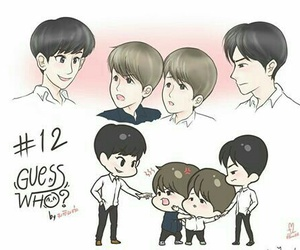 exo, fanart, and sehun image