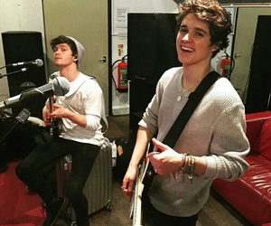 the vamps, connor ball, and brad image