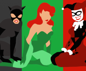 catwoman, comics, and DC image