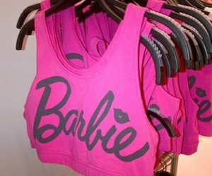 barbie, pink, and love image