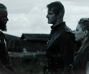 bjorn, gif, and vikings image