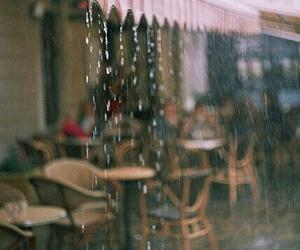 rain, vintage, and indie image