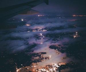 light, night, and sky image