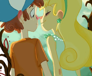 cute couple, gravity falls, and dipper pines image