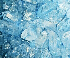 crystal, blue, and wallpaper image