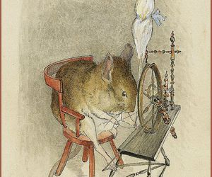 beatrix potter, illustration, and mouse image