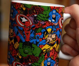 canecas, mugs, and superheroes image