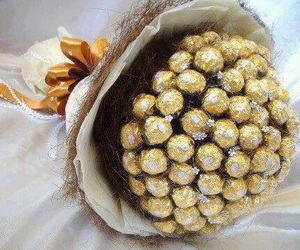 chocolate, sweet, and ferrero rocher image