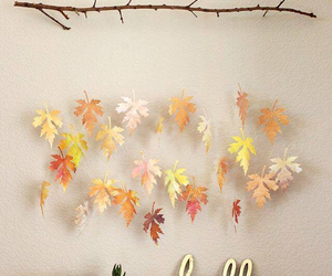 diy, fall, and leaves image