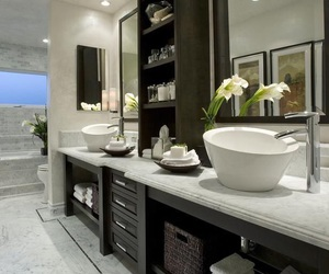 bathroom, luxury, and decoration image