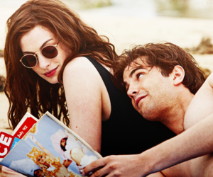 one day, Anne Hathaway, and couple image