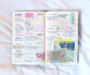 journal, school, and notebook image