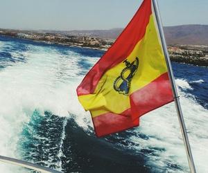 espana, flag, and spain image