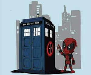 deadpool, doctor who, and Marvel image