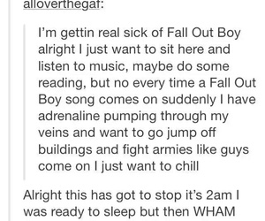fall out boy, music, and tumblr image