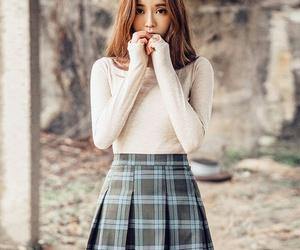 kfashion, girl, and asian image