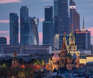 moscow, russia, and city image