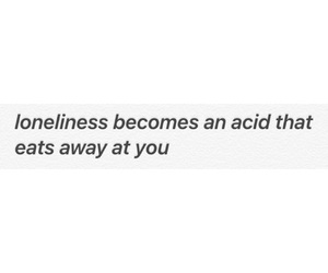 acid, depression, and loneliness image