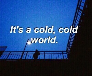 cold, world, and blue image