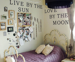 bed, decoration, and inspired image