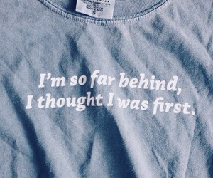 quotes, blue, and shirt image