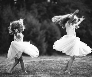 dance and white image