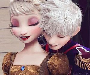 disney, jelsa, and dreamworks image