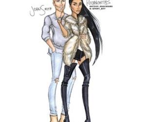 couple, disney, and fashion image