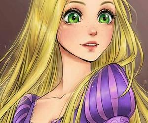 beauty, princess, and enredados image