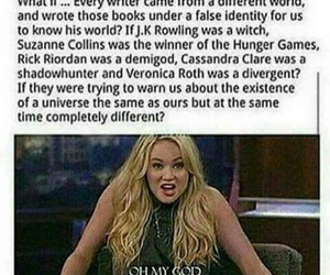 book, jk rowling, and writers image