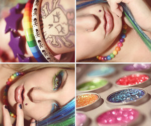 colorful, colorfull, and glitter image