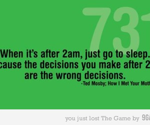 decisions, 2am, and funny image