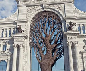 russia, tree, and architecture image