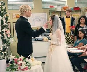 wedding, ross lynch, and laura marano image