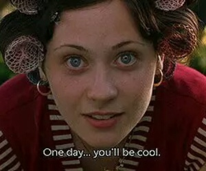 blue eyes, movie quote, and zoey deschanel image