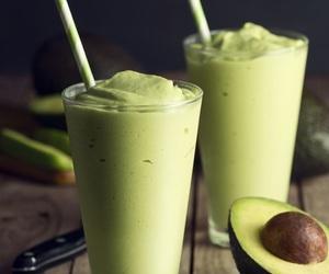 avocado, food, and yum image