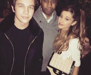 ariana grande and austin mahone image