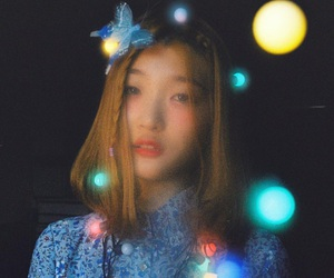 beautiful, blue, and korean image