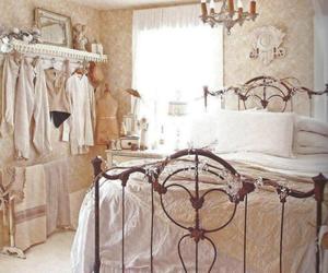 bedroom and vintage image